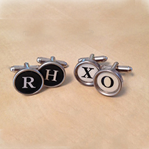 NEW CUSTOM CUFFLINK PHOTO