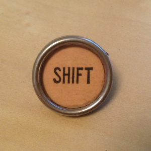Rust Shift Key